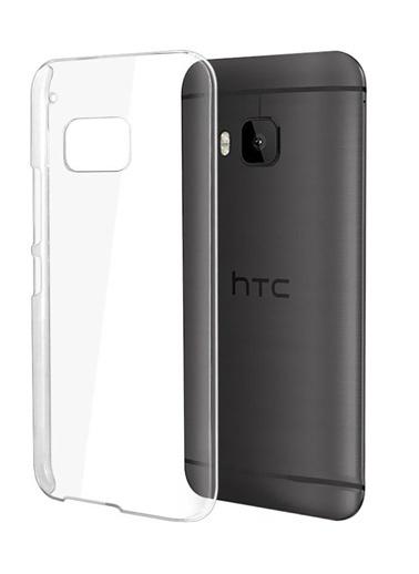 Microsonic kristal Şeffaf HTC One M9 Kılıf Renkli